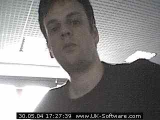 Steven Tattersall - Work webcam (old)